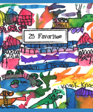 cover of 25 favorites CD